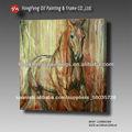 Animales abstracto pintura al óleo caballos galería de arte mhf-13080184