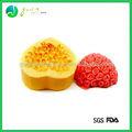 Venda Quente Popular Colorido em forma de flor em forma de animais do bolo do silicone molde