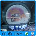 nova inflável barraca da exposição de publicidade