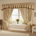 impreso cortinas de algodón