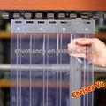 transparente flexible polar del congelador de plástico pvc cortina de la tira para la cámara frigorífica de almacenamiento