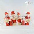 muñeco de nieve de navidad de regalo