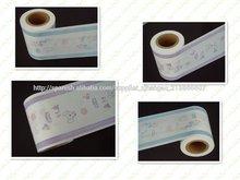 De laminación parcial del pe película de la impresión ( de orina indicación de cine )