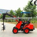 maquinaria agrícola dy620 pequeño jardín tractor cargador para la venta