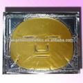 la etiqueta privada para blanquear la piel de cristal de diamante de oro colágeno máscara facial