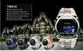 pulgadas reloj teléfono gsm lcd táctil 1.3mp cámara del teléfono móvil soporte de java bluetooth mp3 mp4 fm t- flash card