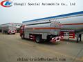distribución de combustible de camiones