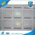anti 3d falsas de la marca personalizada de protección transparente holograma pegatinas