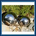 jardín bola de acero inoxidable