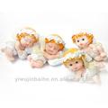 xq924029b de ángel polyresin resina de dormir poco lindo bebé artesanal de figuras de los ángeles