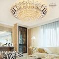 suecia villa de cristal lámparas de techo para el salón habitación etl6122