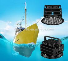 500w cree led lampe de pêche, suspension de poisson lumière, bateau de pêche a mené la lumière
