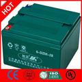 12v recargable eléctrico de la batería 6-DZM-28/CE UL ISO QS