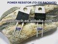 100% fabricante de taiwan de alta qualidade de para 220 resistor de alta potência