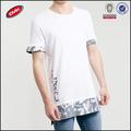 venta al por mayor a granel de altura t camisas para hombres con la letra impresa