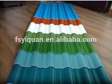 español de plástico para la casa de pvc del techo del azulejo