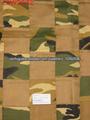 Camuflagem patchwork tecido cortina blecaute