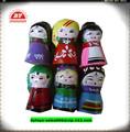 en71 vinil personalizado bonecas russas para venda