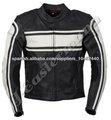 Profesional para hombre chaqueta de cuero moto