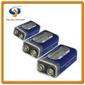 Zinc de carbono de la batería de 9V 6F22 hechos en China