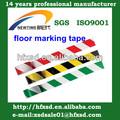 Suelo de PVC marca de cinta adhesiva de advertencia cinta