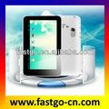 caliente venta de 7 pulgadas boxchip a13 q8 estándar de la pc tableta 3g módem externo para tablet pc
