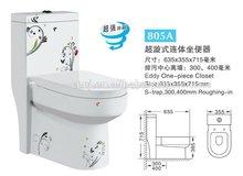 ( 805a) wc inodoro de wc-ducha unidad