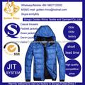 el tamaño americano de hombre y mujer con capucha chaquetas abajo o chaquetas acolchadas 3 colores para optionals