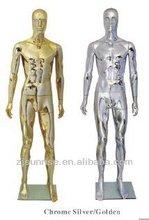 comida de plástico grau prata cromado manequins made in china