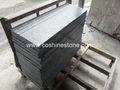 hubei g603 paso de granito gris de la escalera