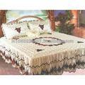 bordado colchas de la cama