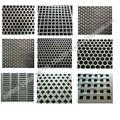 De aluminio perforado hoja, de latón de chapa perforada, baja precio de acero inoxidable perforada hoja