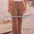 damas pantalones de terciopelo de valores