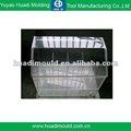 de inyección de plástico del molde de la plaza de tanque de agua transparente