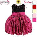 aniversário vestido tutu para crianças festa a fantasia rosa pink crianças fantasia fotos com polka dot