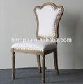 Venta caliente de estilo francés presidente del club, comedor de acento, ocasionales silla lateral