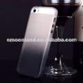 de moda el cambio gradual de color caso de tpu para el iphone caso 5s