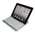 El nuevo diseño de la caja de aluminio con el teclado azul del diente para el iPad 2 3 4