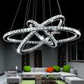 2014 Nuevos Productos 3 Anillo araña de cristal de la lámpara de iluminación MD8825