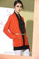 verano 2014 géneros de punto para damas de manga larga chaqueta de punto jersey con bolsillos