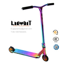 Cromo Neo pro scooters arco iris adultas scooters en venta freestyle HIC truco moto