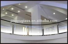 verre en verre balustrade balustrade main courante en verre