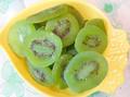 100% naturales secos rebanada de kiwi