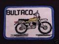 bordado patrón de Bultaco divisa de la ropa