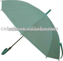 verde a cuadros caminar palo de sombrilla