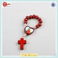 religiosas 2013 dedo rosarios de madera