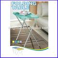 la pierna de y mesa de plástico plegable