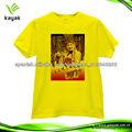 promoción camiseta económicas para la publicidad fabricantes de camisetas en China