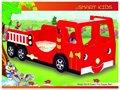 ¡Ventas calientes! Cama del coche de bomberos de los CABRITOS 902-01/pesebre ELEGANTES del bebé