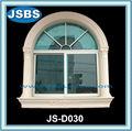 sculpté à la main extérieur blanc pierre rebord de la fenêtre de décoration